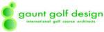 Gaunt golf design logo